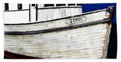 Jenny Beach Sheet by David Lee Thompson