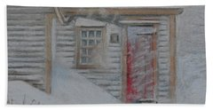 Jeremiah Calkin House  Beach Towel