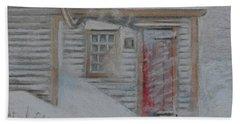Jeremiah Calkin House  Beach Sheet by Rae  Smith PAC