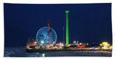 Jersey Shore Beach Towel by Steve Karol