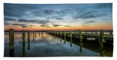 Jersey Shore Sunset, Seaside Heights Beach Towel