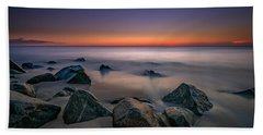 Jersey Shore Tranquility Beach Towel