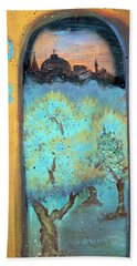 Jerusalem Key Beach Towel
