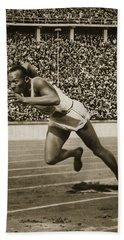 Jesse Owens Beach Sheet by American School