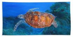 Jessie's Sea Turtle Beach Sheet