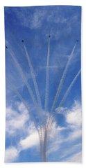Jet Planes Formation In Sky Beach Sheet