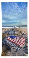 Jetty Four Beach Beach Towel