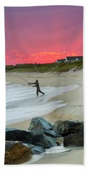 Jetty Four Fisherman Beach Towel