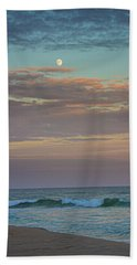 Jetty Four Moonrise Beach Towel
