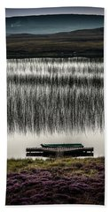 Jetty, Loch Na Maracha, Isle Of Harris Beach Towel