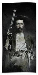 Jim Hawkins Texas Ranger  C. 1870 Beach Towel