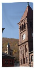 Jim Thorpe Rooftops Beach Towel