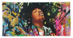 Jimi Hendrix IIi Beach Towel