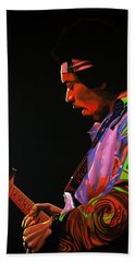 Jimi Hendrix 4 Beach Towel