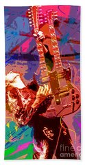Jimmy Page Stairway To Heaven Beach Towel