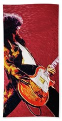 Jimmy Page  Beach Towel