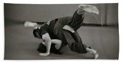 Jiu Jitsu Beach Towel
