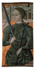 Joan Of Arc (c1412-1431) Beach Towel