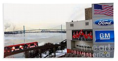 Joe Louis Arena Beach Towel