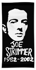 Joe Strummer Beach Towel