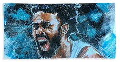 Joel Berry II Beach Towel