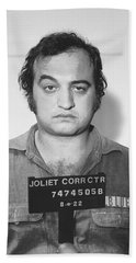 John Belushi Mug Shot For Film Vertical Beach Sheet