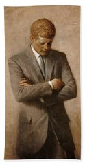 John F Kennedy Beach Towel