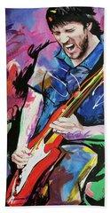 John Frusciante Beach Towel