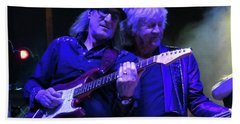 John Lodge At Fergs Beach Towel