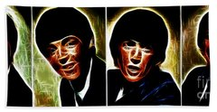 John, Paul, George And Ringo Beach Sheet