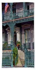 John Rutledge Home, Charleston Beach Towel