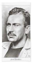 John Steinbeck Beach Sheet by Greg Joens