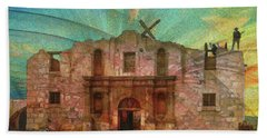John Wayne's Alamo Beach Sheet