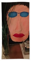 Johnlennonborderline Beach Towel