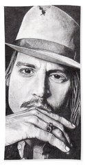 Johnny Depp Beach Sheet