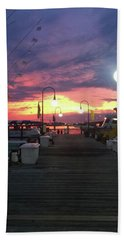 John's Daughter's Talbot St Pier Sunset Beach Towel