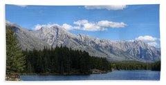 Johnson Lake, Alberta Beach Towel