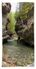 Johnston Canyon Beach Towel