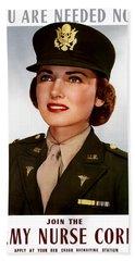 Join The Army Nurse Corps Beach Towel