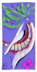 Joker Beach Towel by Jason Nicholas