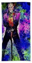 Joker Night Beach Sheet