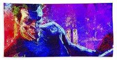 Joker's Grin Beach Towel