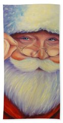 Jolly Old Saint Nick Beach Sheet