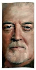 Jon Lord Deep Purple Portrait 8 Beach Towel