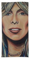 Joni Mitchell Beach Towel