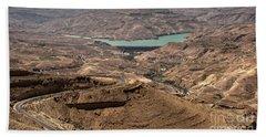 Beach Towel featuring the photograph Jordan River by Mae Wertz