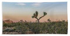 Joshua Tree Evening Beach Towel