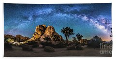 Joshua Tree Milkyway Beach Towel