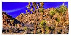 Joshua Tree National Park Beach Towel