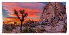 Joshua Tree Sunset Beach Sheet